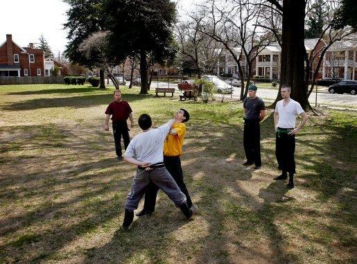 taijutsu group one arm technique